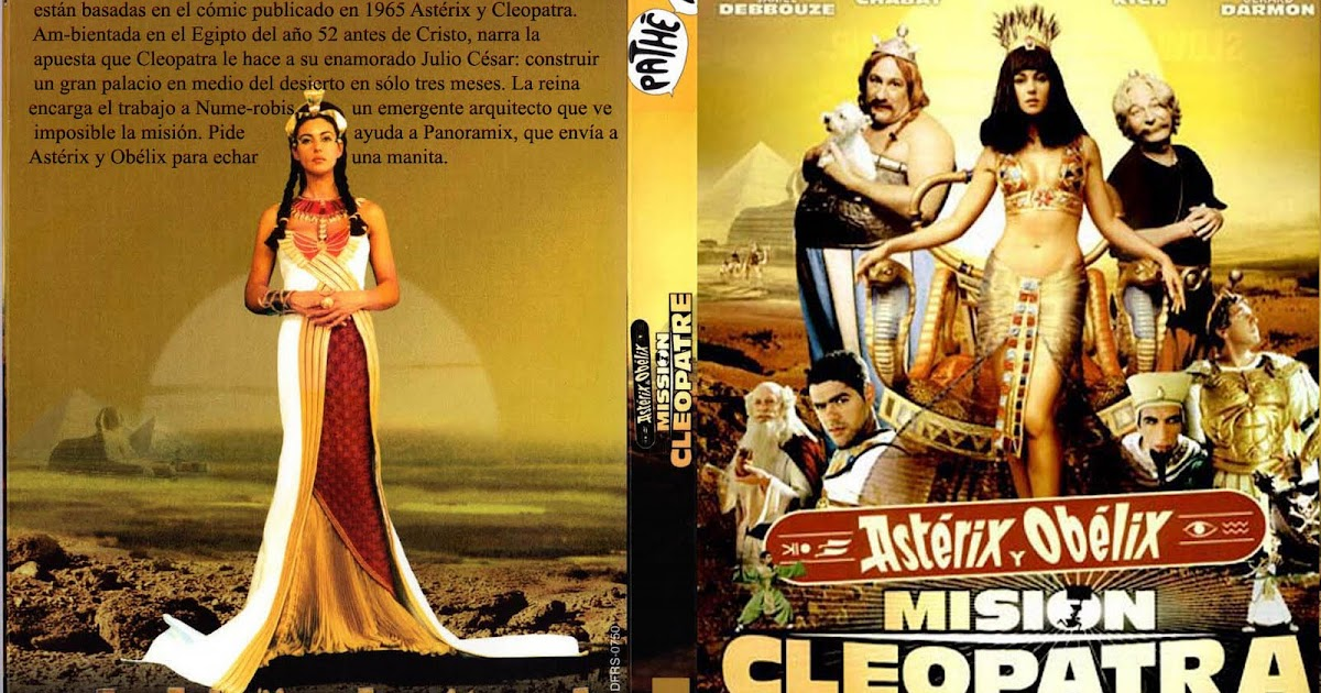 asterix and obelix meet cleopatra cartoon