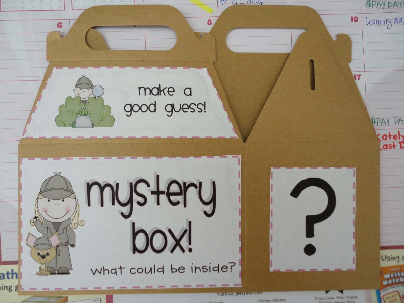 Mystery Box Inferencing Activity