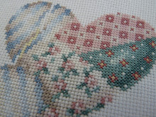 Cross stitch...