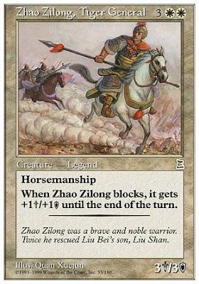 จูล่ง แห่งเสียงสัน :: Zhao Zilong, Tiger General