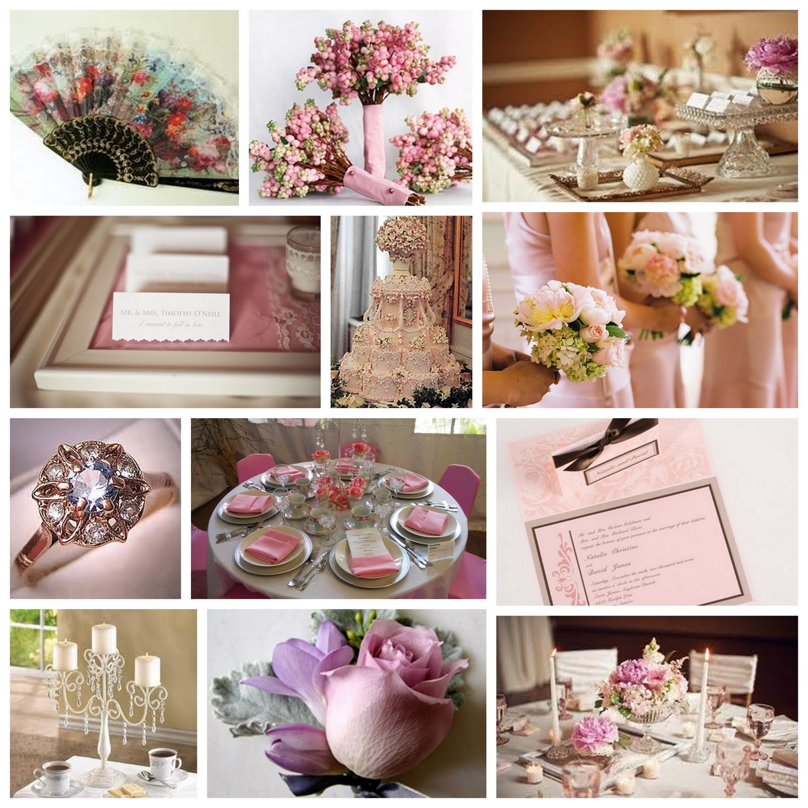 Kirkbrides: Victorian Wedding Inspiration Board