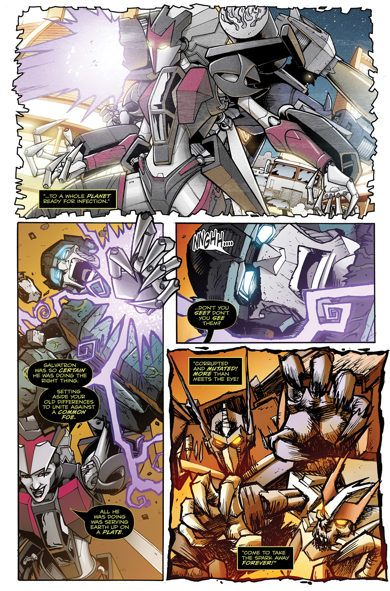 Read online Transformers: Infestation comic -  Issue #2 - 9