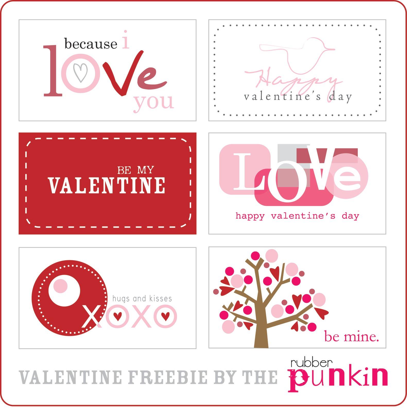 Free Printable Valentine S Quote: Estão No The Rubber Punkin , Para Baixar Clique AQUI