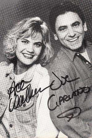 Ace and Joe and the World Chart Show autographed photo blog