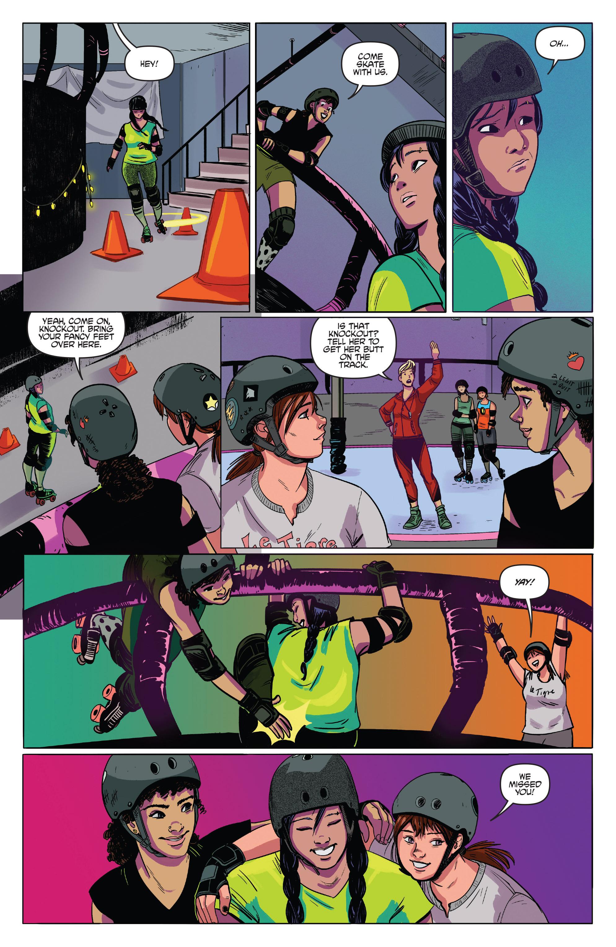 Read online Slam! comic -  Issue #3 - 14