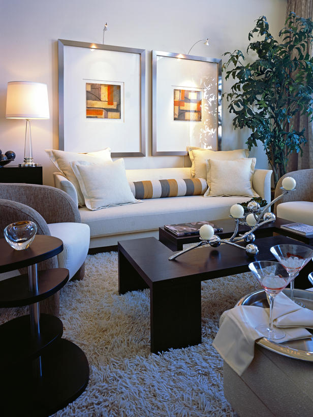 Artsy Living Room: Designs Of My Mod-Artsy Apartment: What Colours To Paint