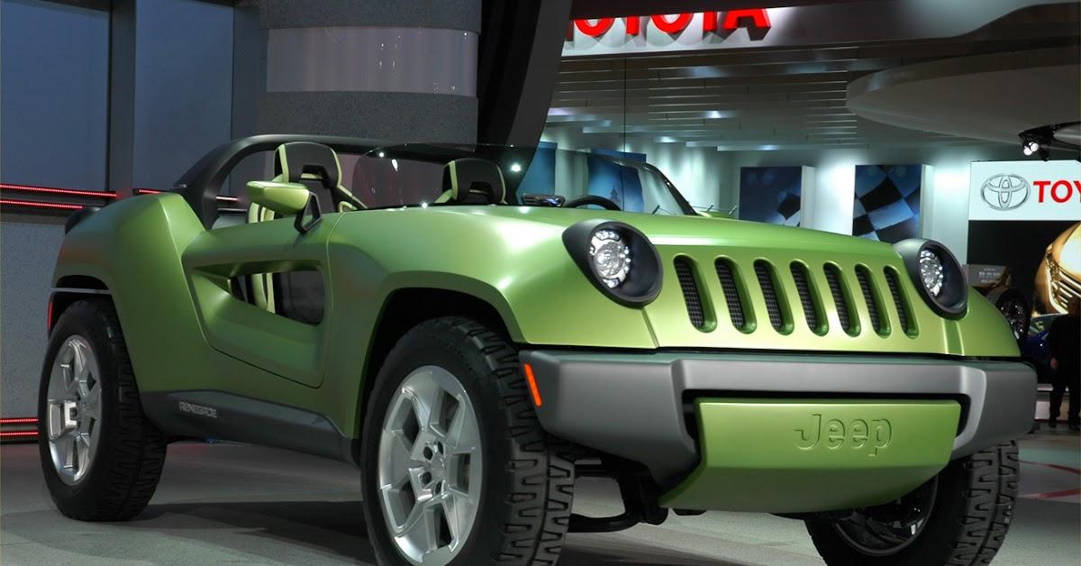 detroit show jeep renegade diesel hybrid concept. Black Bedroom Furniture Sets. Home Design Ideas