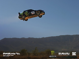 Flying Subaru Impreza Video From Ken Block S 171ft World