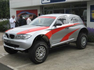 Bmw 1 Series Monster Truck To Take Part In 2008 Dakar Rally