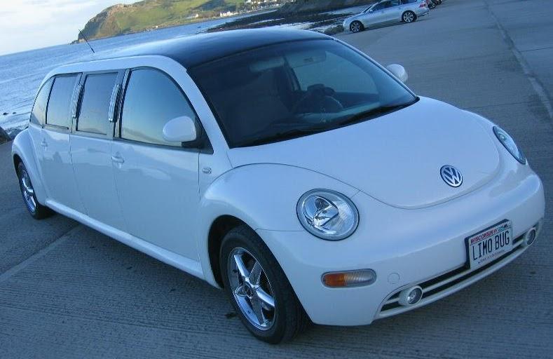 Punch Buggy Car >> Volkswagen New Beetle Limousine!