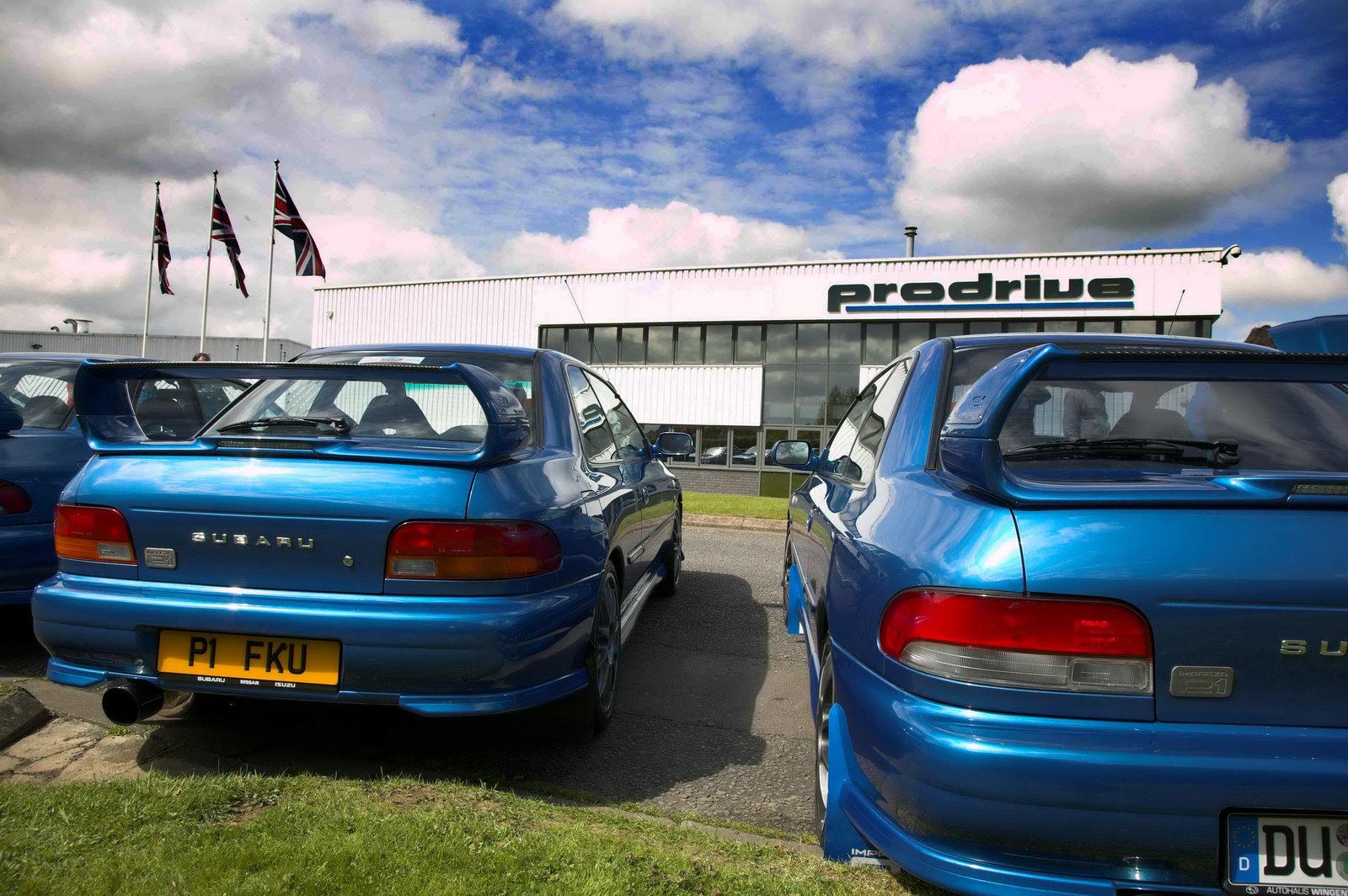 Subaru Impreza P1 Coupe Owners Celebrate 10th Anniversary
