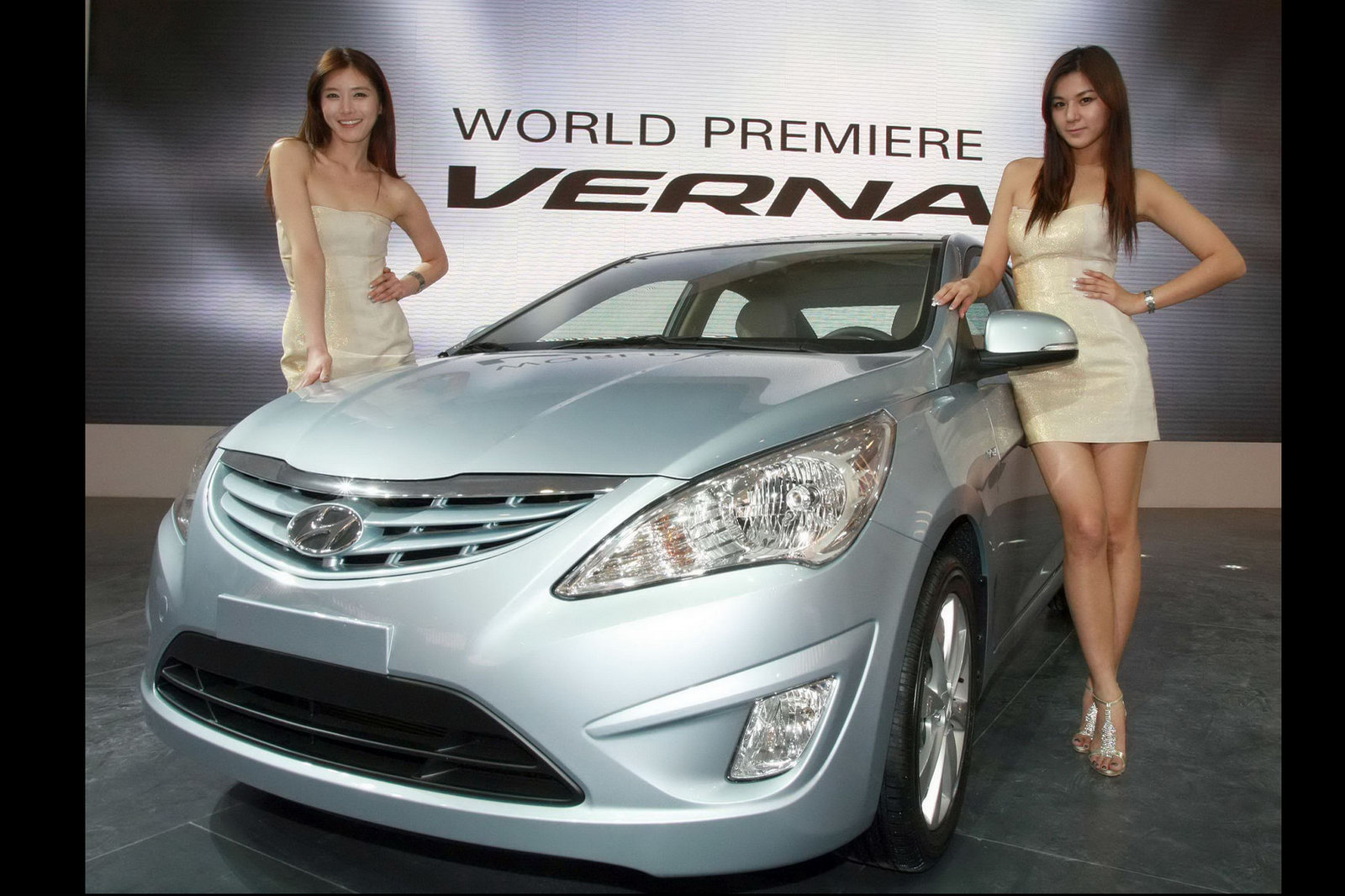 New Hyundai Accent Verna Mini Me Sonata Debuts At