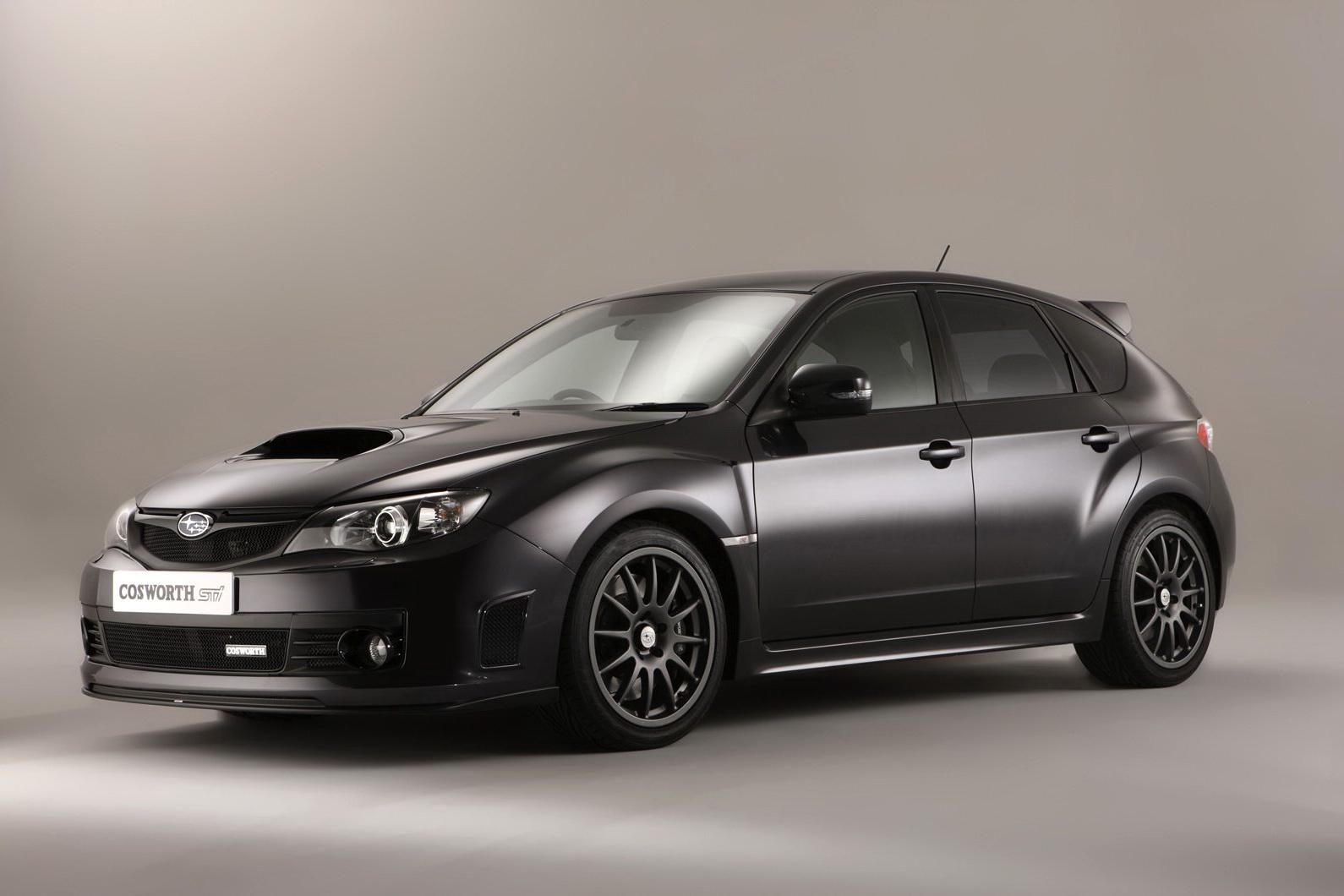 Subaru Cosworth Impreza Sti Cs400 Official Photos Of
