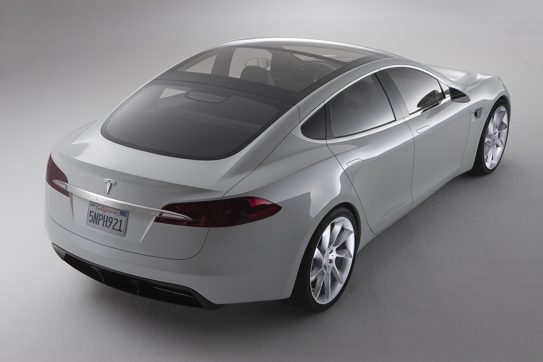 Car New Tesla Model S Electric Sport Sedan High Res