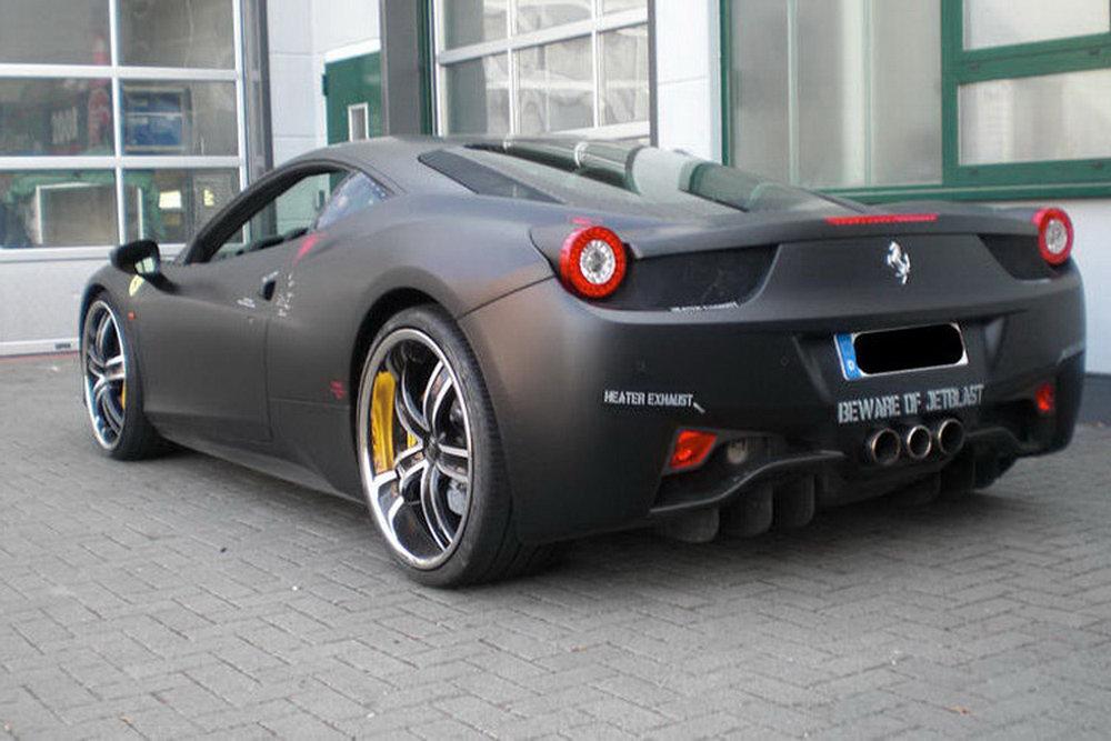 Spec Racer Ford >> THE CAR: Ferrari 458 Italia Themed after F-117 Nighthawk