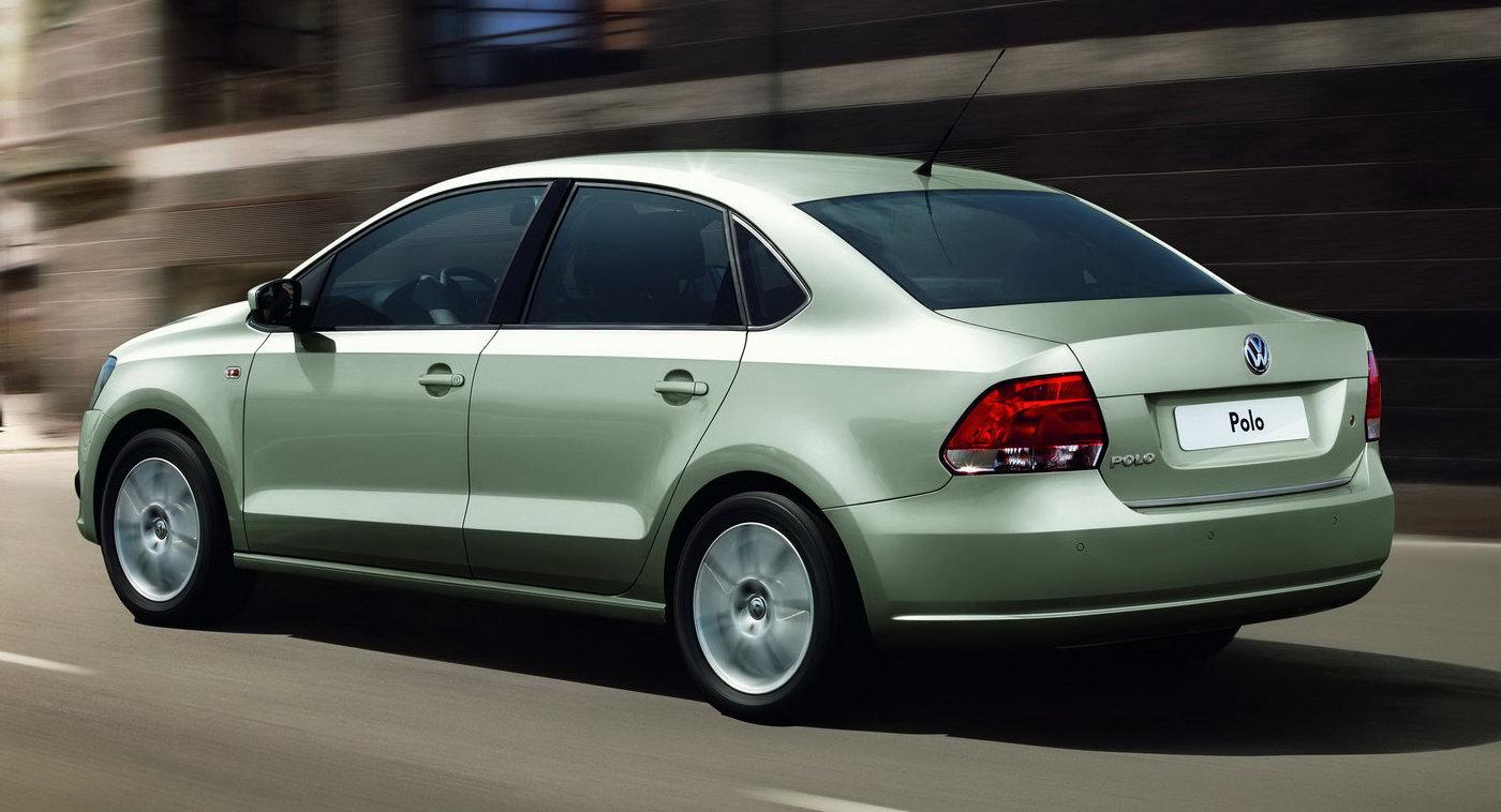 New Volkswagen Polo Sedan: Jetta's Little Brother Revealed