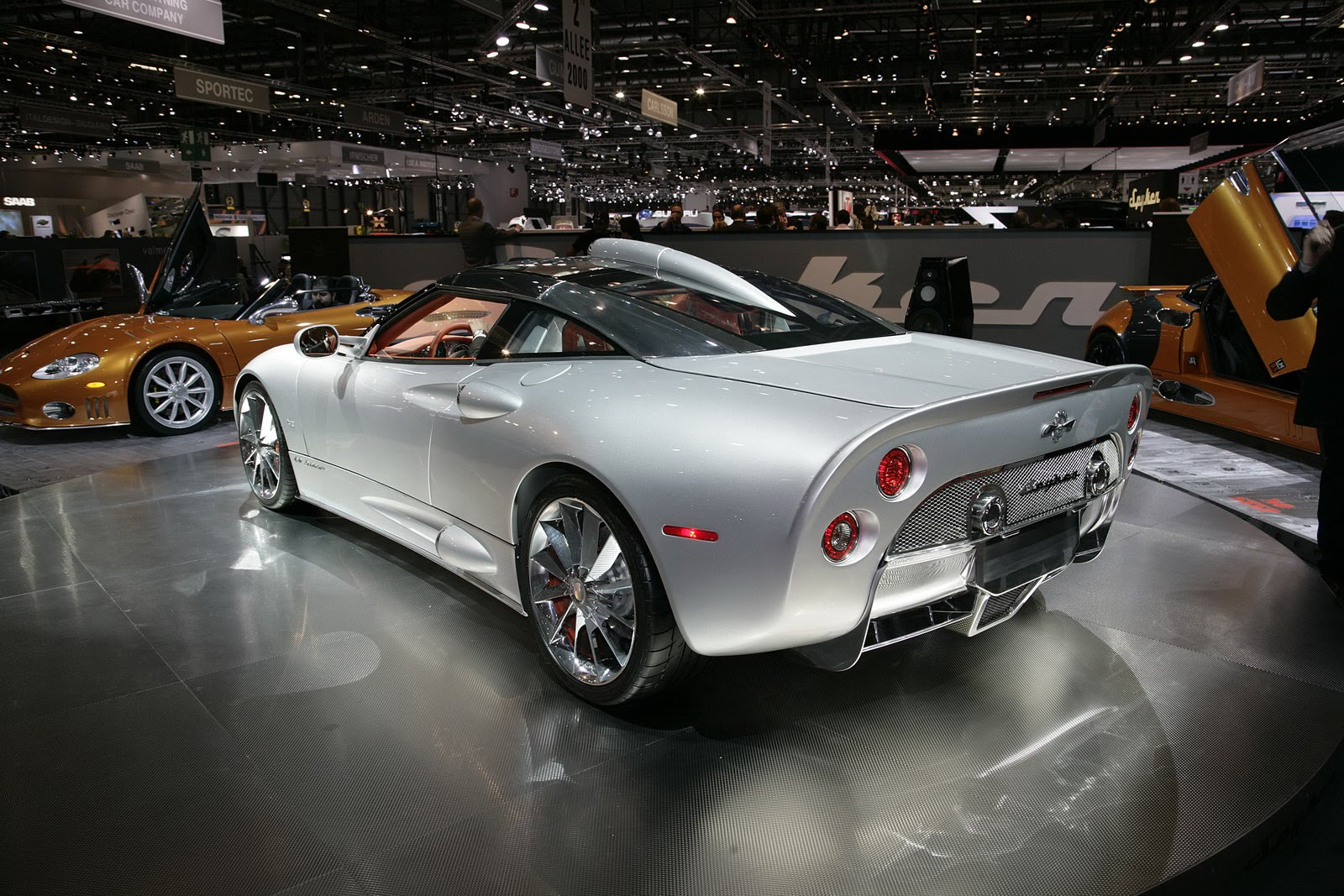 spyker to begin selling sports cars at saab showrooms photos. Black Bedroom Furniture Sets. Home Design Ideas