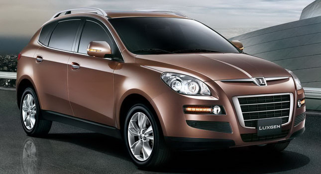 Auto Cars 2011 2012 Taiwan S First Car Brand Launches Luxgen7 Suv