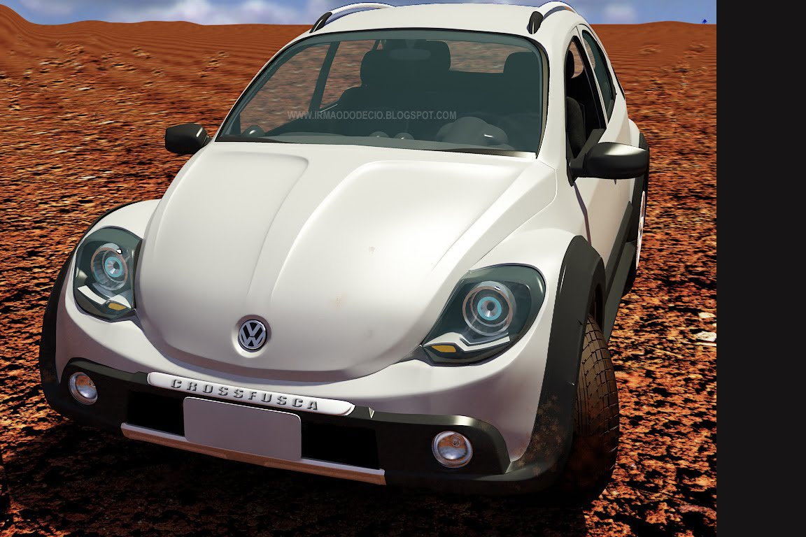 Vw Of America >> Retro Take for 2012 New VW Beetle Design Study | Carscoops