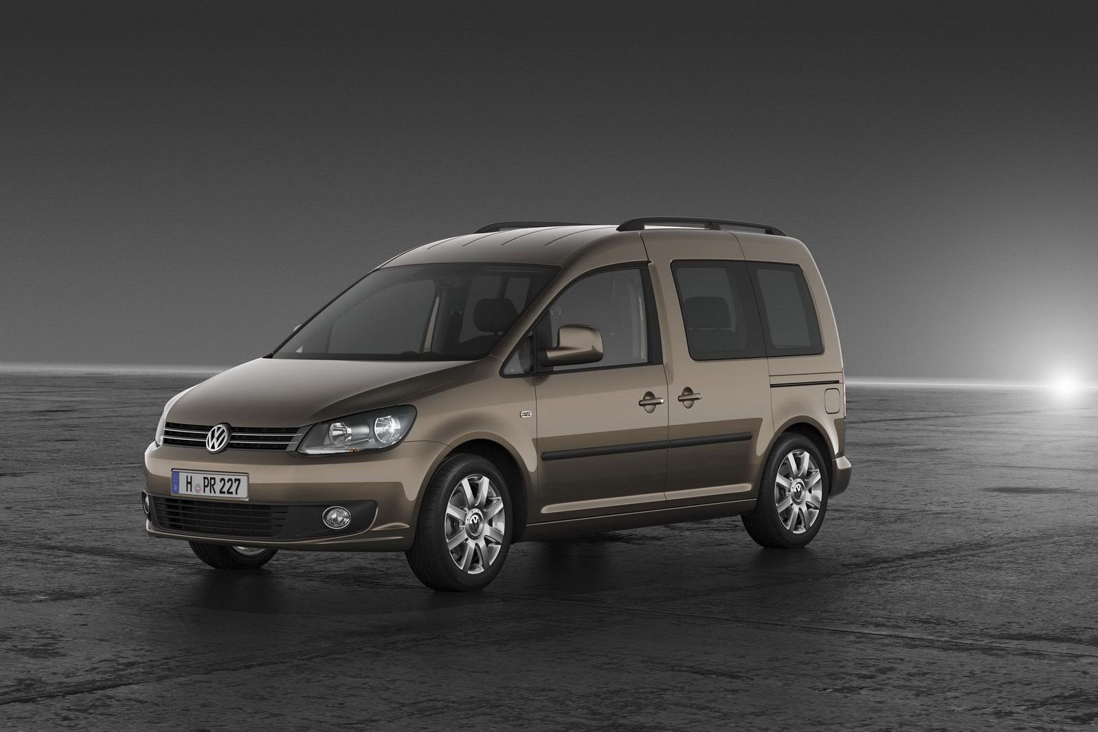 Volkswagen Unveils Redesigned 2011 Caddy Minivan Carscoops Com