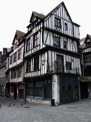 Houses in Rouen