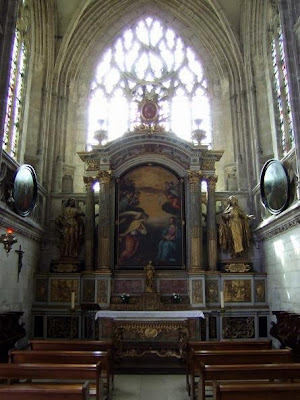 inside the Saint-Jean Church