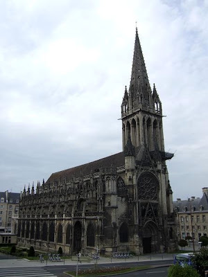 front of the Saint-Pierre Church