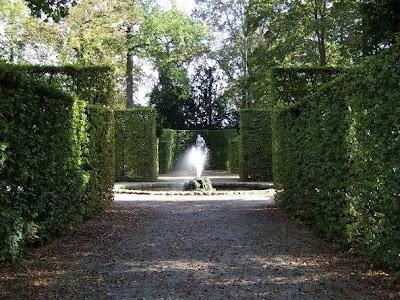 fountain in Schwetzingen