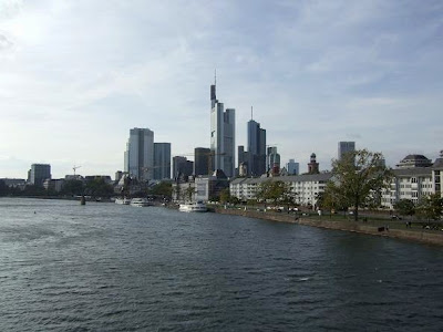 Frankfurt am Mian skyline