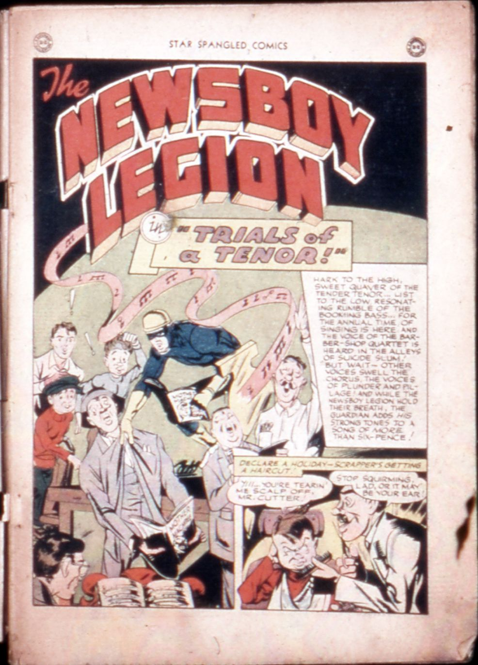Star Spangled Comics (1941) issue 43 - Page 3