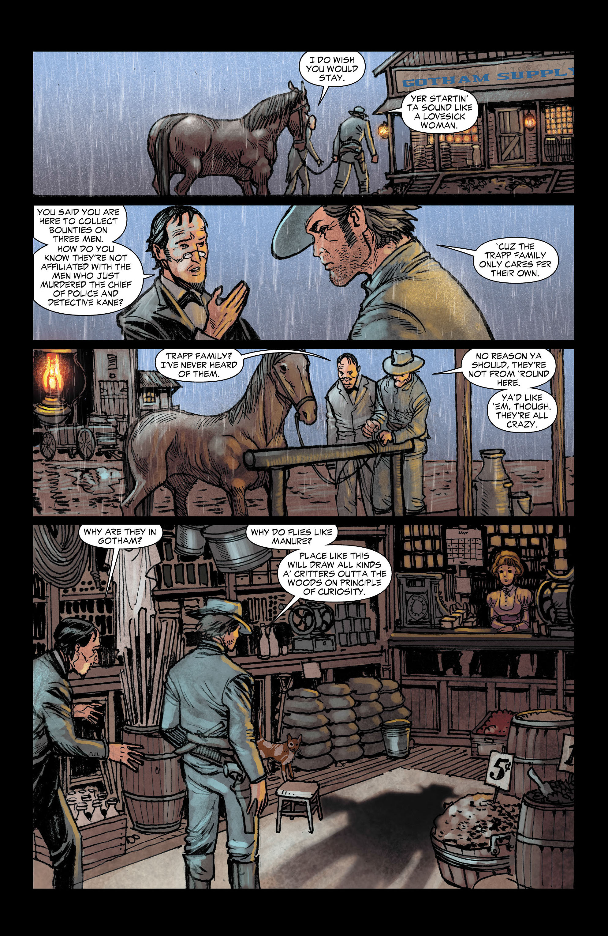 Read online All-Star Western (2011) comic -  Issue #3 - 13