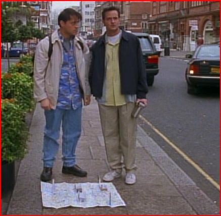 Joey Standing On His Map Has Always Reminded Me Of Blue S Clues Because And Steve Could Go Into Paintings Stuff