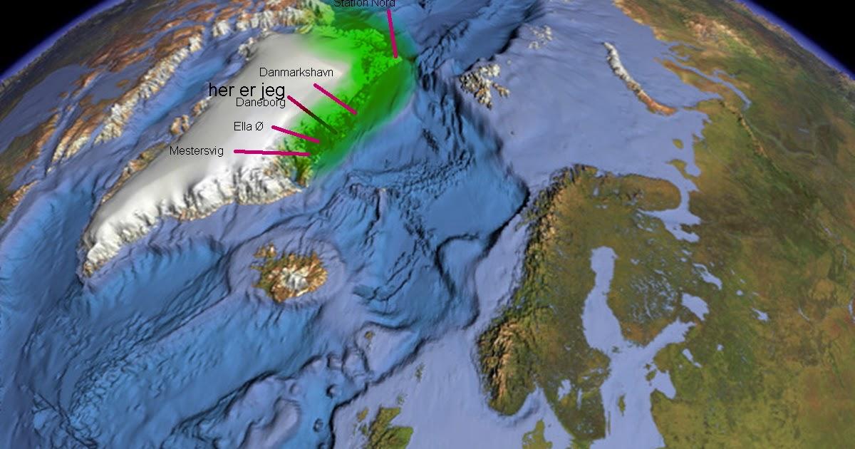 Slaedepatruljen Sirius Map Kart Kort