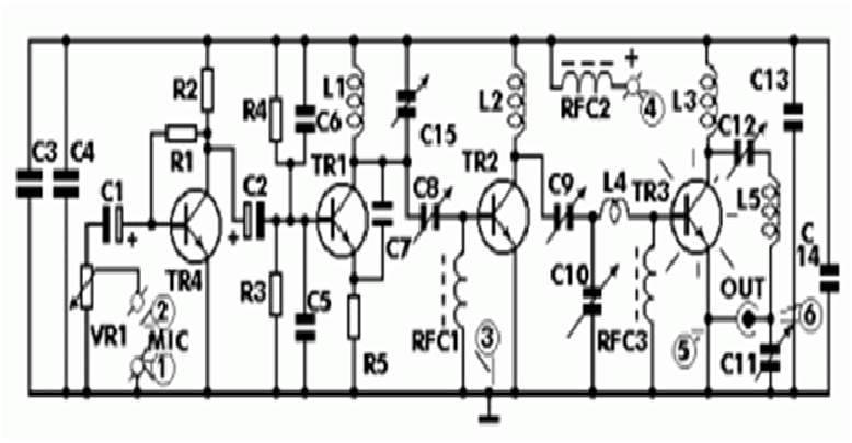 Circuit Fm Transmitter Project