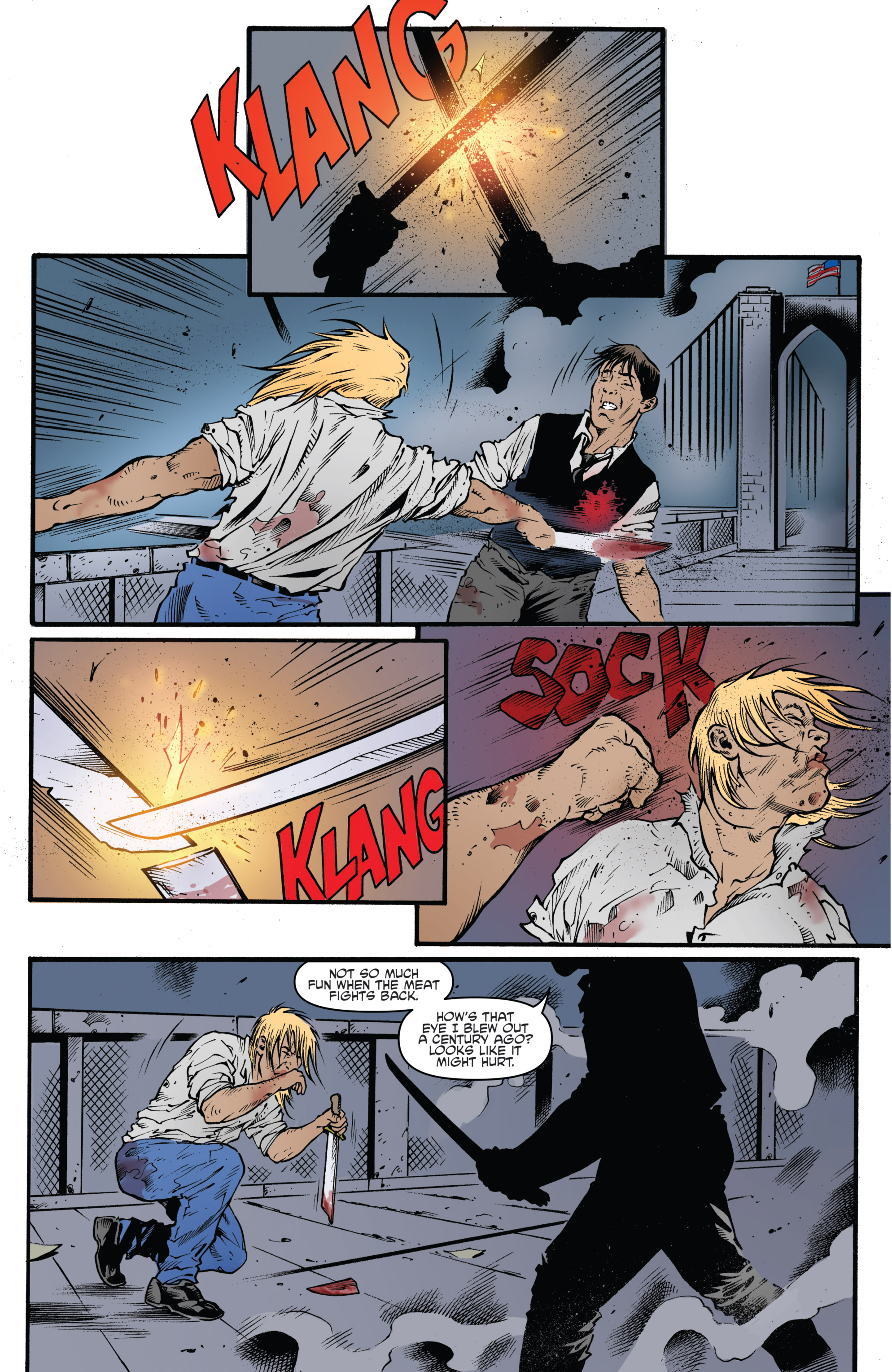 Read online Highlander: The American Dream comic -  Issue #4 - 8