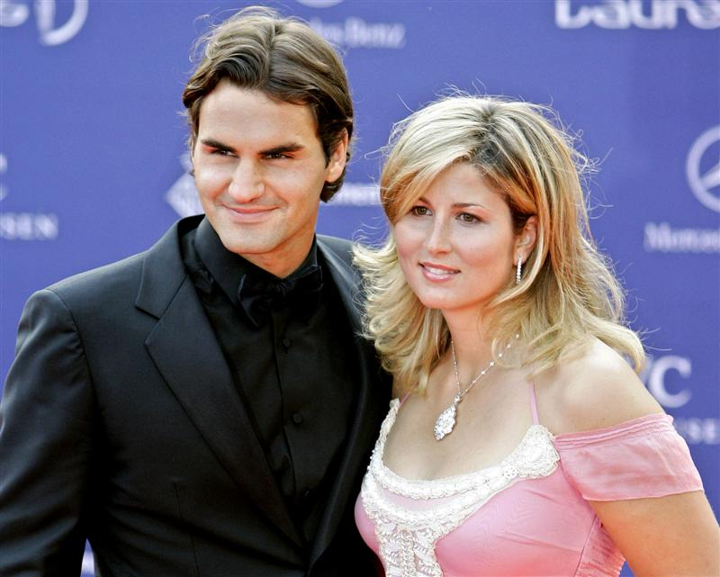 Sports: Roger Federer & His Wife