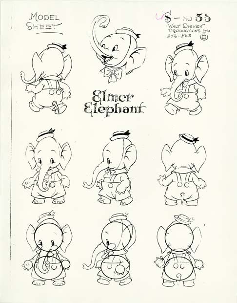 I Heart Picture Books Character Model Sheets - character model template