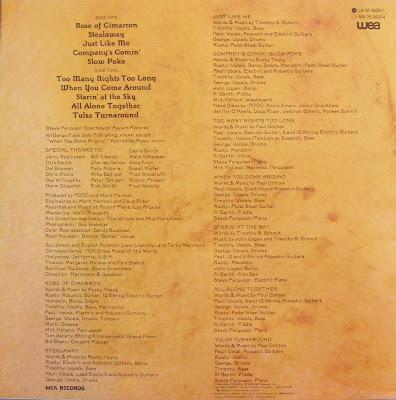 Las Galletas de Maria: Poco - Rose Of Cimarron (1976 US)