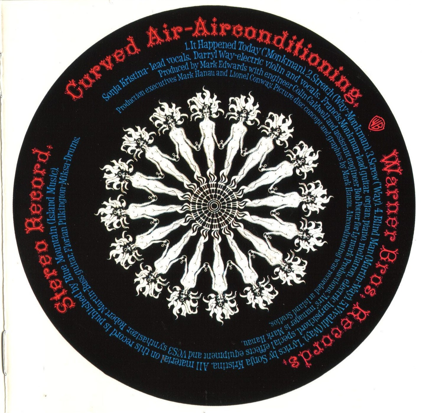Las Galletas De Maria Curved Air Airconditioning 1970 Uk