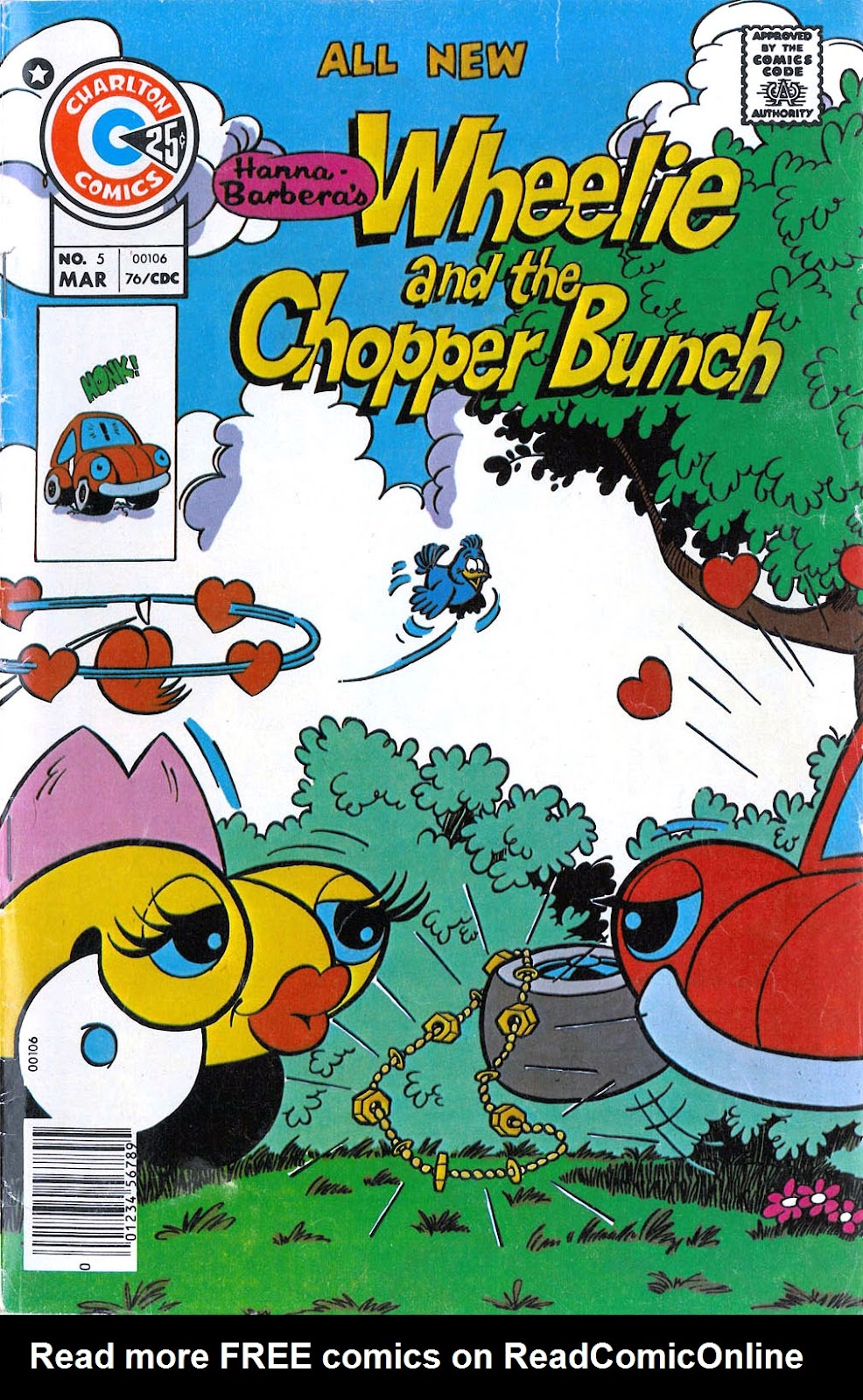 Wheelie and the Chopper Bunch issue 5 - Page 1