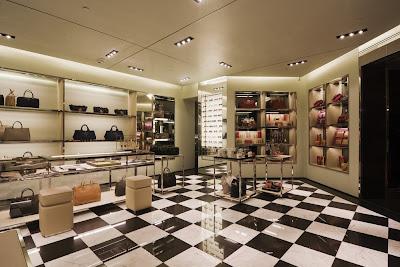 13f224ef12 Prada opened a new boutique in Barcelona inside the El Corte Ingles  department store on Avenida Diagonal