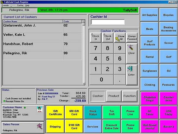 touch screen cash register software free download