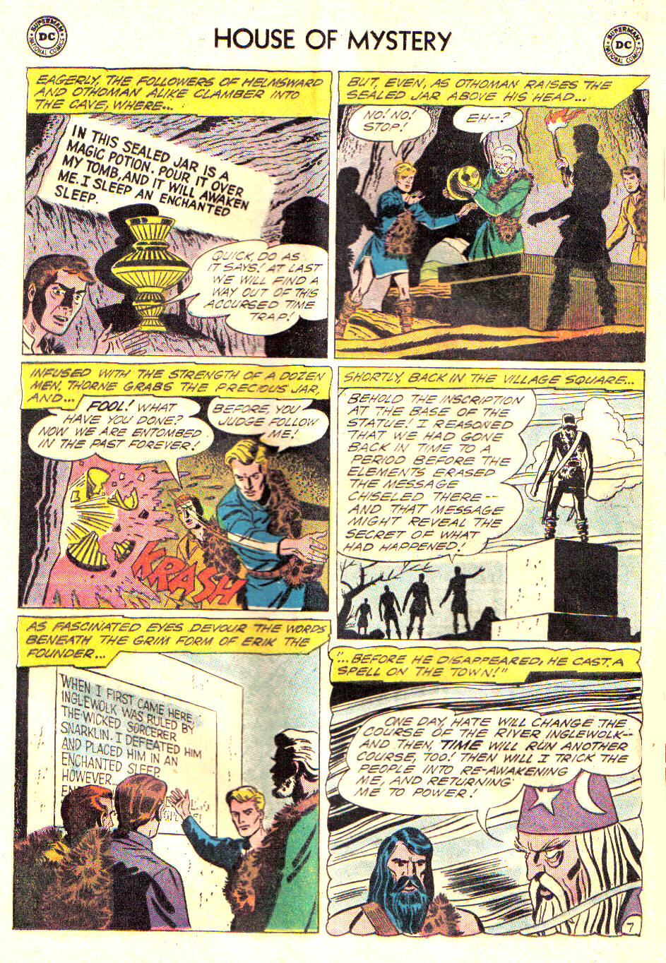 Comic House of Mystery (1951) issue 124