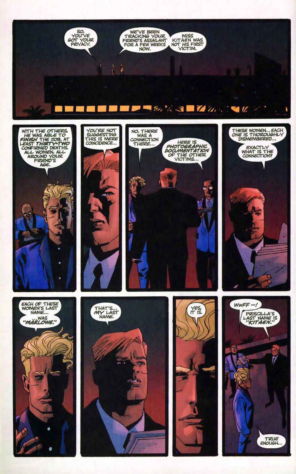 Wildcats (1999) Issue #17 #18 - English 12