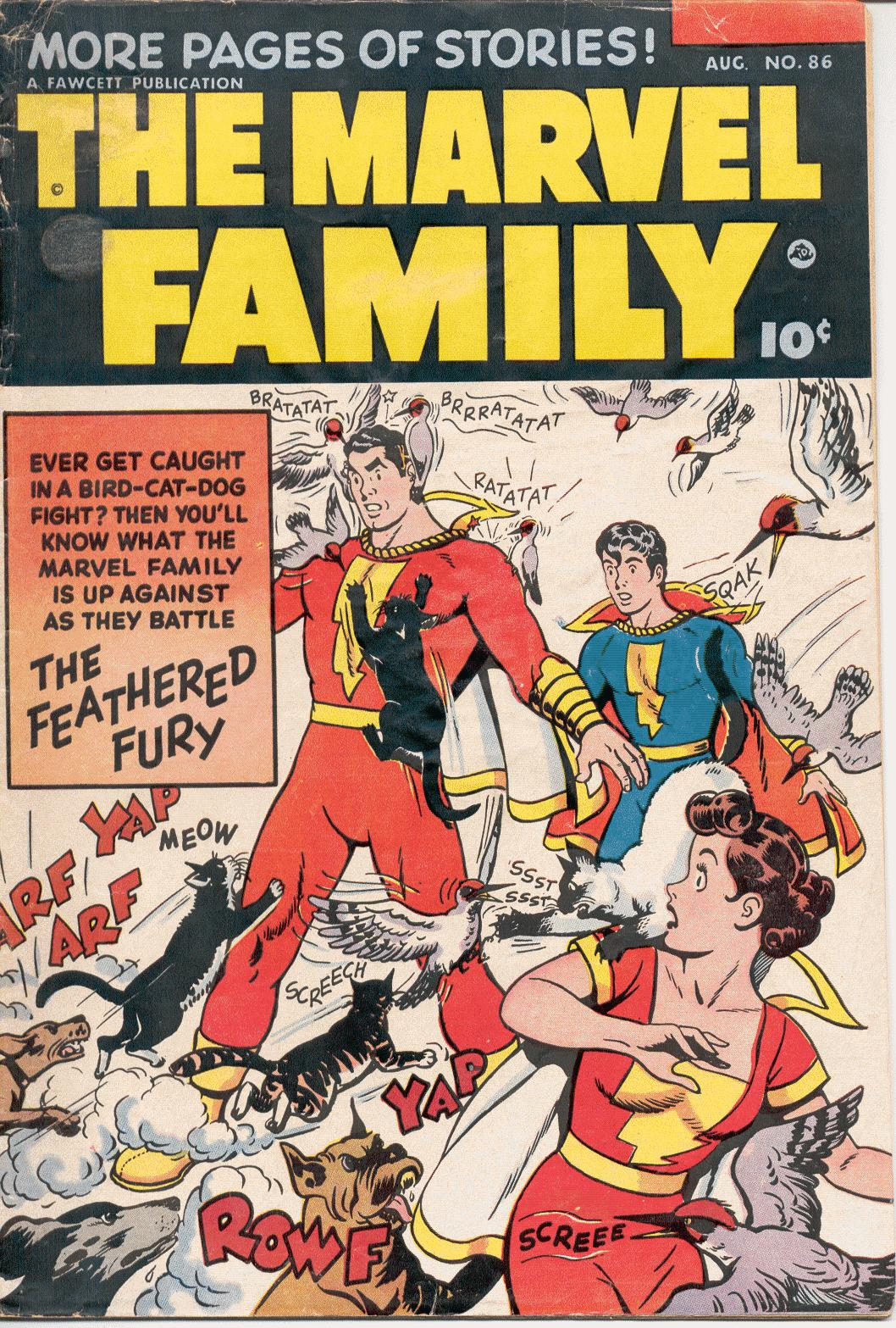 The Marvel Family 86 Page 1