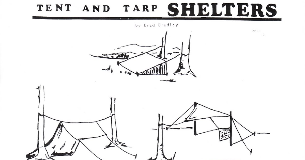 Wilderness Survival Skills Blog: Tarp Shelters