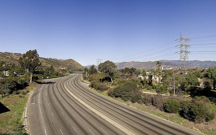 Los Angeles deserta