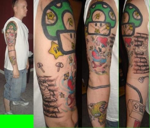 Gaming Tattoos