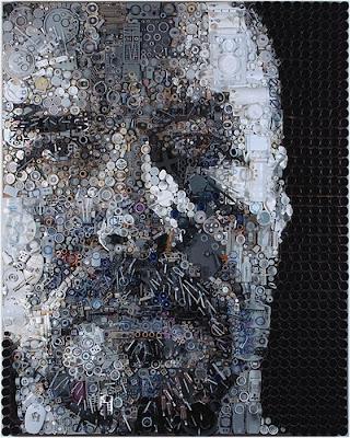 Retratos de lixo por Freeman Zac 17