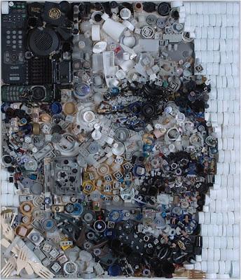 Retratos de lixo por Freeman Zac 13